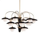 Barron Chandelier - Aged Brass Product Image