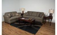 Vibrant Walnut / Whirlwind Chestnut Sofa Product Image