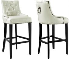 Uptown Cream Barstool Product Image