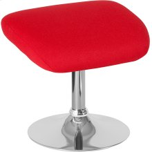 Egg Series Red Fabric Ottoman