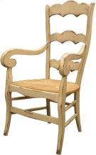 Isabella Arm Chair with Rush Seat Product Image