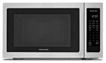 "21 3/4"" Countertop Microwave Oven - 1200 Watt - Black Stainless"