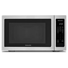 "21 3/4"" Countertop Microwave Oven - 1200 Watt - Black Stainless"