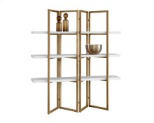 Halston Bookcase - White