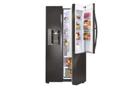 LG Black Stainless Steel Series 26 cu. ft. Ultra Capacity Side-By-Side Refrigerator w/ Door-in-Door®