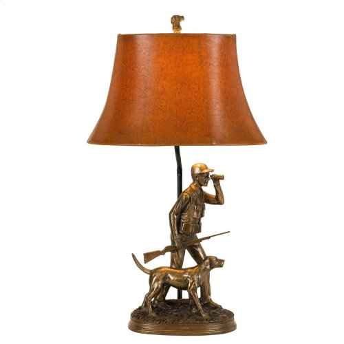 150W Hunter Resin Table Lamp
