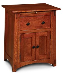 McCoy Deluxe Nightstand with Doors