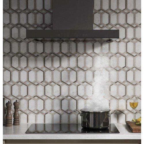 "30"" Smart Designer Wall Mount Hood w/ Perimeter Venting"