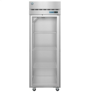 HoshizakiR1A-FG, Refrigerator, Single Section Upright, Full Glass Door with Lock