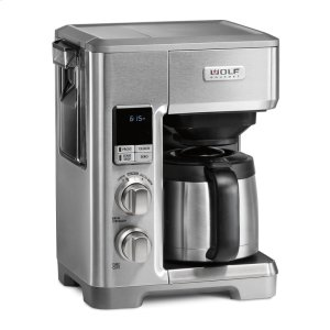 WolfProgrammable Coffee System - Brushed Stainless Knob