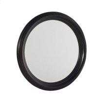 Camden Dark Round Mirror