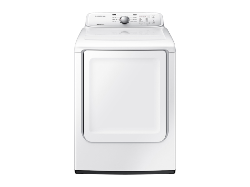 Samsung7.2 Cu. Ft. Electric Dryer With Moisture Sensor In White