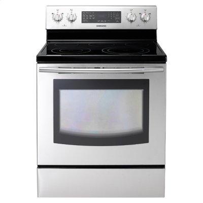 NE595R0ABSR Electric Range (Stainless Steel) Product Image