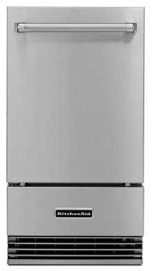 "18"" Outdoor Automatic Ice Maker - Stainless Steel"