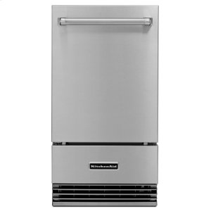 """Kitchenaid18"""" Outdoor Automatic Ice Maker - Stainless Steel"""