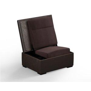 Salamander DesignsJumpSeat Ottoman, Bark Cover / Root Beer Seat