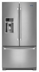 Maytag® 36-inch Wide French Door Refrigerator with Fingerprint Resistant Stainless Steel Exterior - 27 cu. ft. Product Image