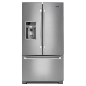 MAYTAGHERITAGE36-inch Wide French Door Refrigerator with Fingerprint Resistant Stainless Steel Exterior - 27 cu. ft.