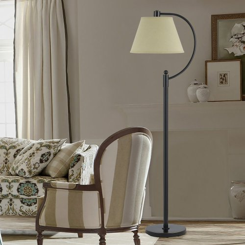 100W Kinder Metal Arc Floor Lamp