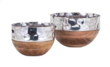 TY Persimmon Serving Bowls - Set of 2