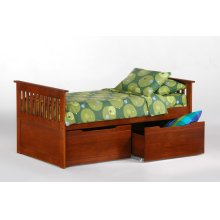 Ginger Captains Bed in Cherry finish