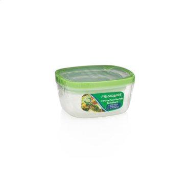 3 Piece Plastic Container Set
