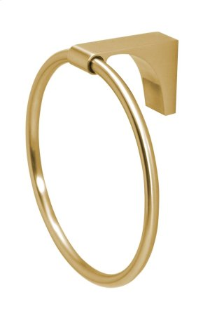 Luna Towel Ring A6840 - Satin Brass Product Image