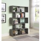 Weathered Grey Wide Bookcase Product Image