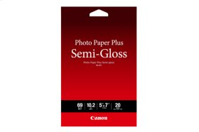 Canon Photo Paper Plus Semi-Gloss 5x7 20 Sheets Photo Paper Plus Semi-gloss SG-201 5x7 - 20 Sheets