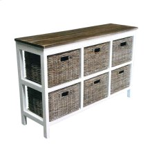 6 Drawer Sideboard