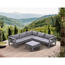 Cliff Outdoor Patio Aluminum Sectional
