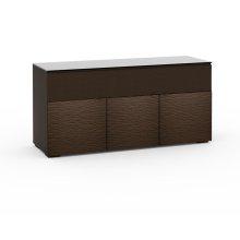Berlin 339, Triple-Width AV Cabinet, Textured Wenge