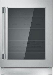 24-Inch Under-Counter Glass Door Refrigerator