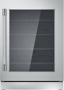 "24"" UNDER-COUNTER GLASS DOOR REFRIGERATION T24UR920RS"