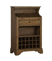Tuscan Retreat® Slanted Wine Rack - Antique Pine Product Image