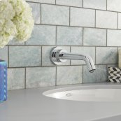 Serin Sensor-Operated Wall-Mount Faucet  American Standard - Polished Chrome