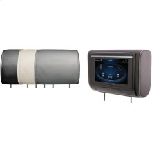 """9"""" LCD Universal Headrest with IR & FM Transmitters & 3 Interchangeable Skins (DVD Player)"""