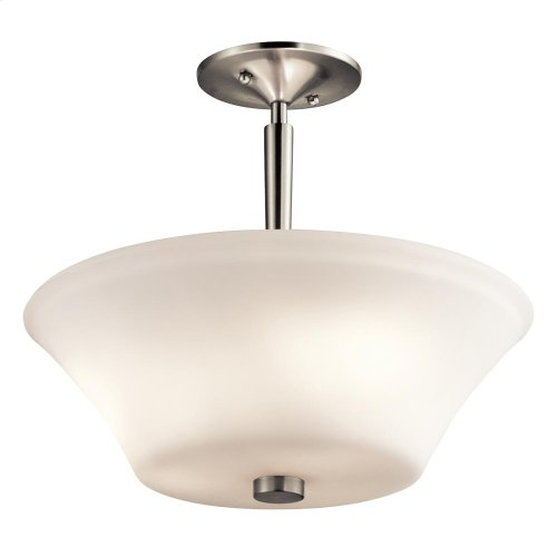 Aubrey Collection Aubrey 3 Light Semi Flush NI