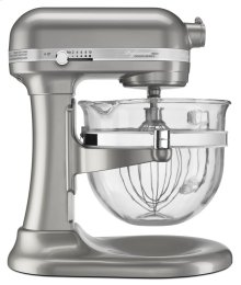 Professional 6500 Design Series 6 Quart Bowl-Lift Stand Mixer - Sugar Pearl Silver