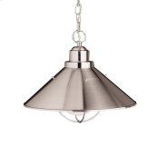 Seaside Collection Seaside 1 Light Outdoor Pendant NI
