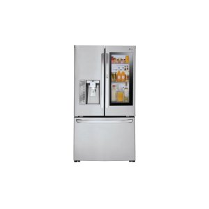24 cu. ft. Smart wi-fi Enabled InstaView Door-in-Door® Counter-Depth Refrigerator - STAINLESS STEEL