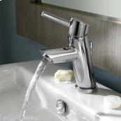 Serin Petite 1-Handle Monoblock Bathroom Faucet - Polished Chrome