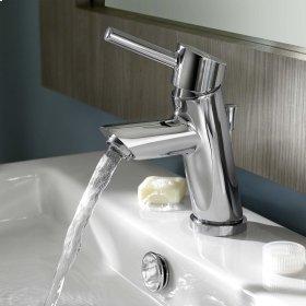 Serin Petite 1-Handle Monoblock Bathroom Faucet - Brushed Nickel