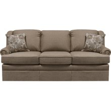 Rochelle Sofa 4005 in Maxima Plum Floral Fabric