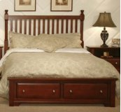 Slat Storage Bed (Queen)
