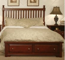 Slat Storage Bed (Queen)
