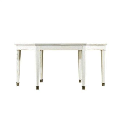 Coastal Living Resort Soledad Promenade Leg Table in Nautical White