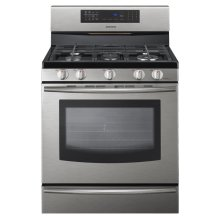 5.8 cu ft Freestanding Gas Range with True Convection