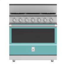 "36"" 5-Burner All Gas Range - KRG Series - Bora-bora"