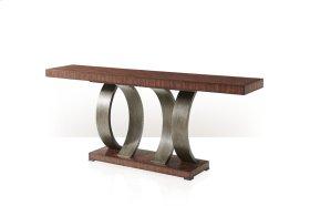 Inward Curve Console Table